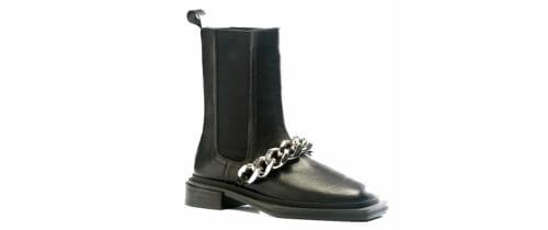 Calzado bota negra